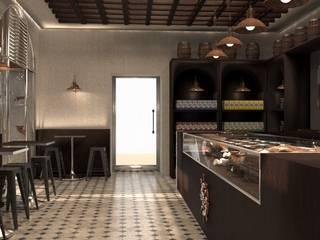 Foggy Mug - Nuova Caffetteria Ferrara Bar & Club moderni di Andrea Dolcetti Design Moderno
