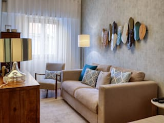 maria inês home style Mediterranean style living room