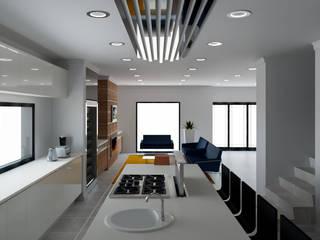 Modern family home by Designs by Meraki Modern