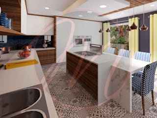 Kitchen by Designs by Meraki Scandinavian