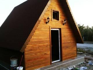 Doğayla iç içe tek katlı hafif çelik bir ev - bungalov Kırsal Evler ASK MİMARLIK İNŞAAT Kırsal/Country