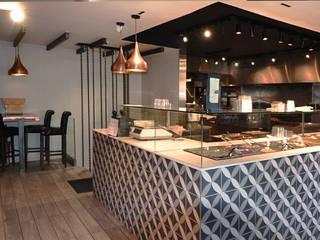 Churrasqueira 4 Chemins Cozinhas modernas por Projecto 84 Moderno