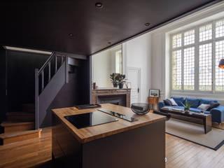 Appartement rue de Bellechasse 75007 Paris par Philippe Conzade Moderne