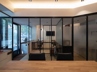 Bureaux YRSA avenue Emile Zola 75015 Paris Bureau moderne par Philippe Conzade Moderne