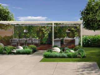 Verde Progetto - Adriana Pedrotti Garden Designer Antejardines Blanco