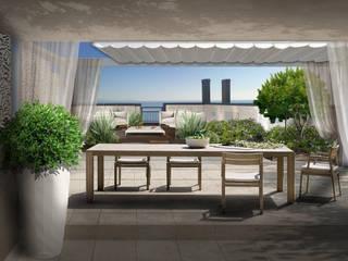 Verde Progetto - Adriana Pedrotti Garden Designer Balcon, Veranda & Terrasse modernes