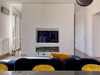 Casa Chiana Soggiorno moderno di Arabella Rocca Architettura e Design Moderno