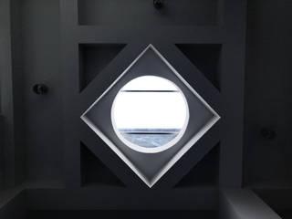 Moderne Wohnzimmer von 趙奕翔建築師事務所 Modern