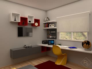 Quarto de Adolescente por Filipa Sousa Interior Design Moderno