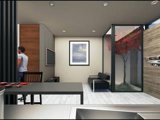 Casa Tahona Casas modernas de Geometrica Arquitectura Moderno