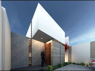 Casa Tahona de Geometrica Arquitectura Moderno
