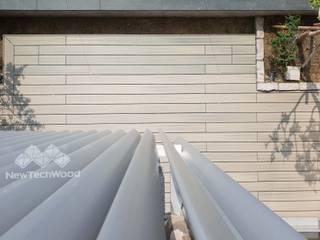 Minimalist balcony, veranda & terrace by 新綠境實業有限公司 Minimalist