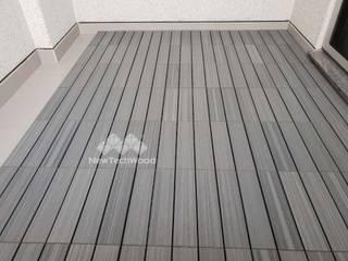 新綠境實業有限公司 Boden Holz-Kunststoff-Verbund Grau