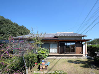 山道勉建築 Patios Wood Brown