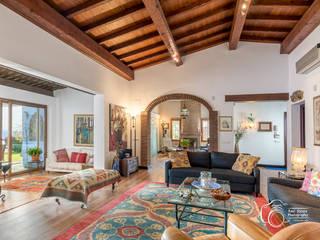 Salas de estar mediterrâneas por Per Hansen Mediterrâneo