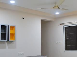 3BHK Interiors for Mr Harris @ Sarajapur, Bangalore: modern  by Anza Design Studio,Modern