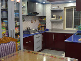 3BHK Interiors for Mr Alam at Ulsoor, Bangalore: modern  by Anza Design Studio,Modern
