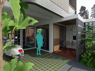 Rumah Dedet:modern  oleh Gubah Ruang, Modern