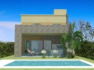 Casa en Moreno de ARQUITECTURA FENG SHUI Minimalista