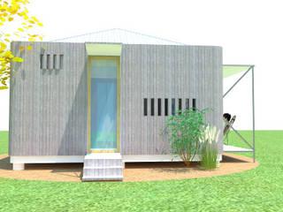 Casa Módulo con Feng Shui Casas minimalistas de ARQUITECTURA FENG SHUI Minimalista