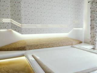 AARAV RESIDENCE Modern style bedroom by ACHI ARCHITECTS Modern