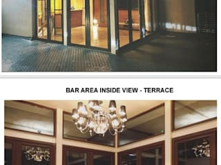 Monoceros Interarch Solutions Minimalistischer Balkon, Veranda & Terrasse