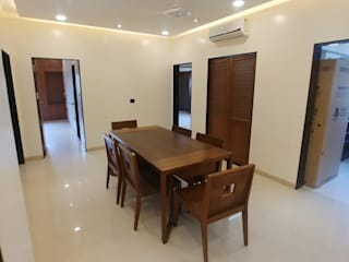 Residence at Mangaldas Classic style dining room by DESIGN MATRIX Classic