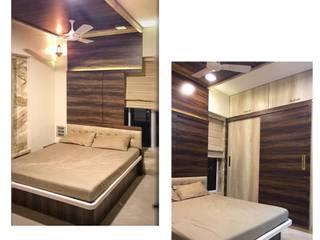 3bhk Residential Project Modern style bedroom by Architect sambhav jain Modern