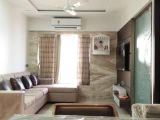 3bhk Residential Project Modern living room by Architect sambhav jain Modern
