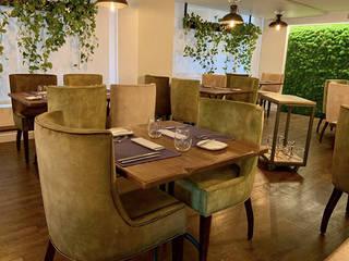Restaurante Adrián Quetglas Gastronomía de estilo mediterráneo de Cubiñá, muebles de diseño en Barcelona Mediterráneo