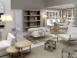Livings de estilo moderno de Alicia Peláez Sevilla - Interiorismo y Decoración Moderno