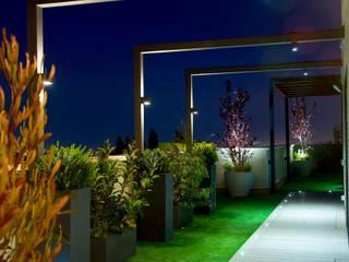 ésverd - jardineria & paisatgisme Klasik Balkon, Veranda & Teras