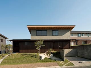 山道勉建築 Wooden houses Wood Brown
