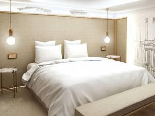 Dormitorios de estilo moderno de Alicia Peláez Sevilla - Interiorismo y Decoración Moderno