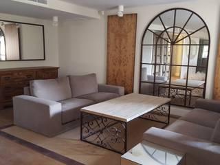 Livings de estilo colonial de Alicia Peláez Sevilla - Interiorismo y Decoración Colonial
