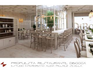 Comedores de estilo colonial de Alicia Peláez Sevilla - Interiorismo y Decoración Colonial