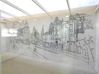Alicia Peláez Sevilla - Interiorismo y Decoración Balcones y terrazas de estilo moderno