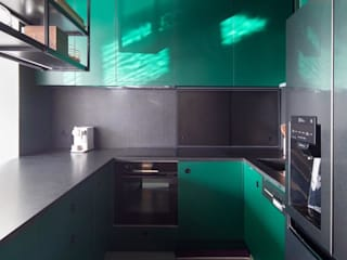 Carpintaria Senhora da Paz, Unipessoal Lda 廚房長凳套 複合木地板 Green
