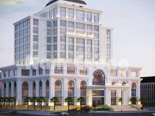 Kiến trúc khách sạn sang trọng đẹp bởi Thiết kế khách sạn Hiện đại