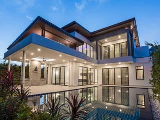 House Izinga Modern houses by WG Architects Modern