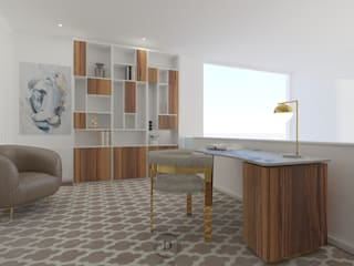 Modern Study Room and Home Office by Donna - Exclusividade e Design Modern