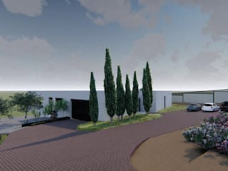 Modern houses by Agoin Modern