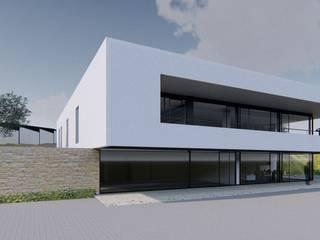 VIVIENDA EXCLUSIVA EN TOLEDO Casas de estilo moderno de Agoin Moderno