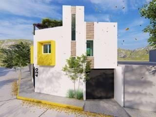 Casas minimalistas por Vértice Arquitectos Minimalista