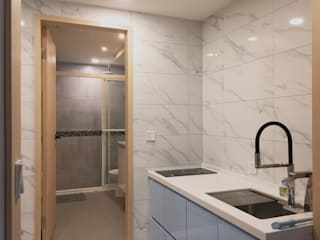 捷運士林溫馨雙層宅 根據 御品室內設計裝潢