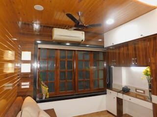 single bedroom renovation : tropical  by AXLE INTERIOR,Tropical
