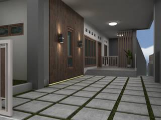 Home Exterior Balkon, Beranda & Teras Modern Oleh unimony.id Modern