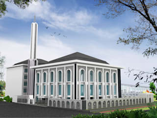 Mesjid Bio Farma Bandung Event Venue Modern Oleh unimony.id Modern