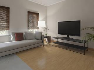 Salon Modern Living Room by ISPMedia Modern