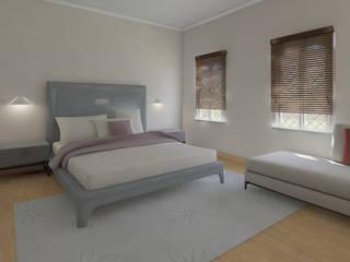 Sypialnia by ISPMedia Minimalist